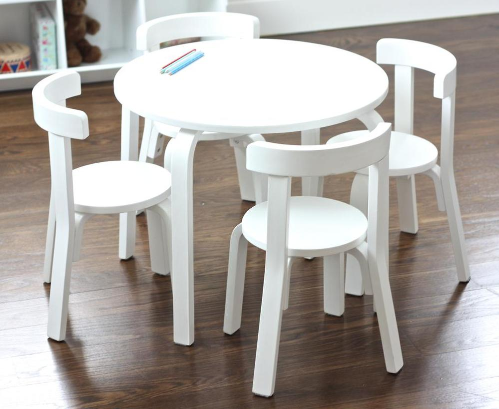 Childrens wooden table and chair set decor ideasdecor ideas for Table and chair set