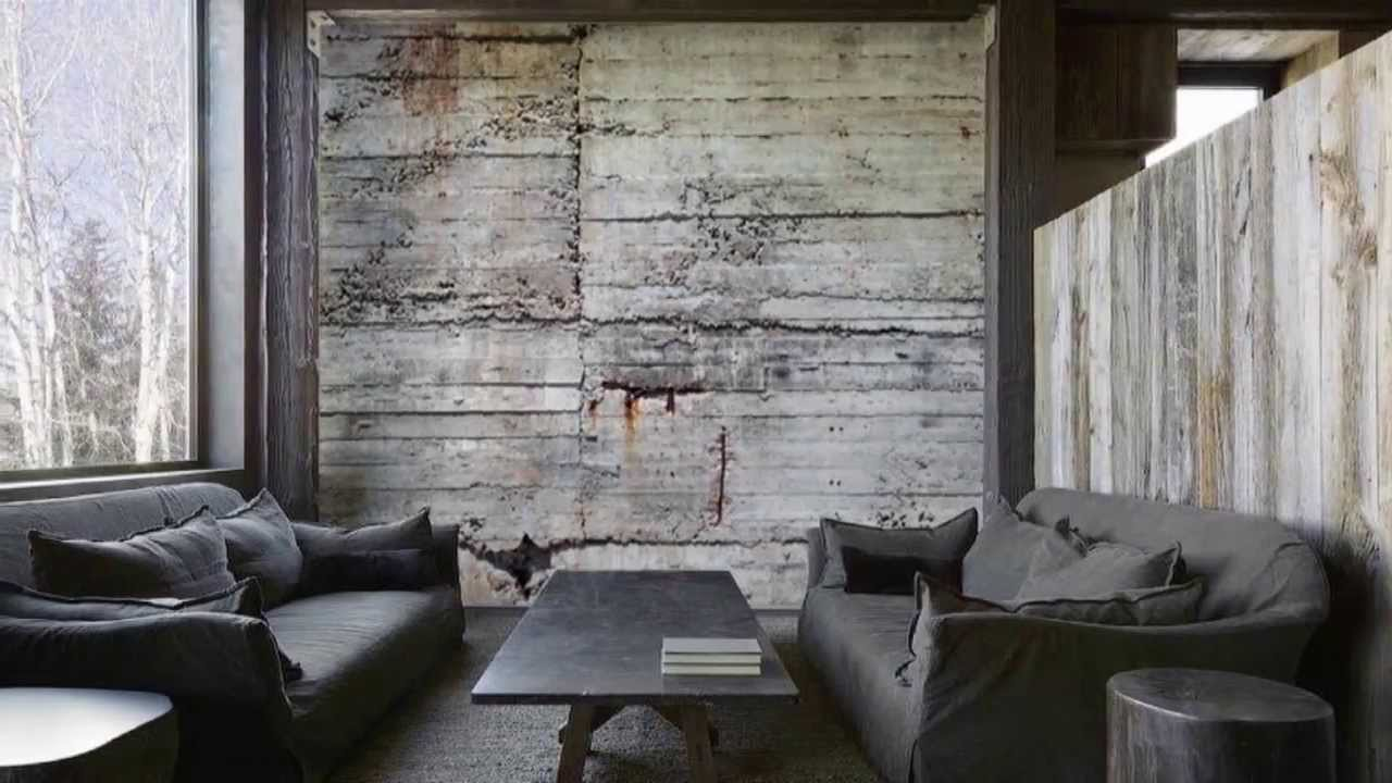Concrete wall covering decor ideasdecor ideas for Wallcovering ideas