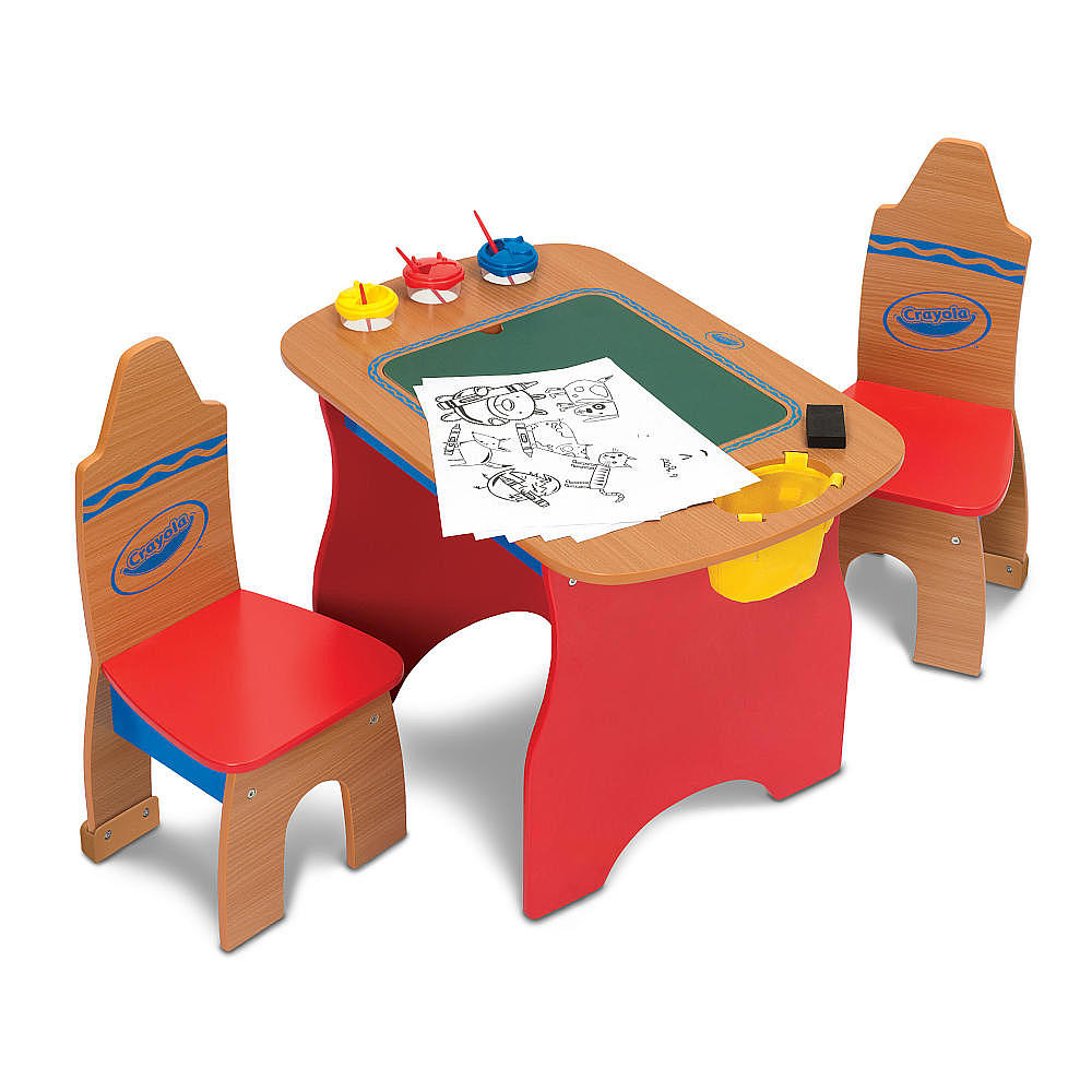 Crayola Wooden Table And Chair Set Decor IdeasDecor Ideas