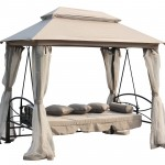 Gazebo Swing Bed