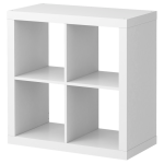 Ikea White Shelves