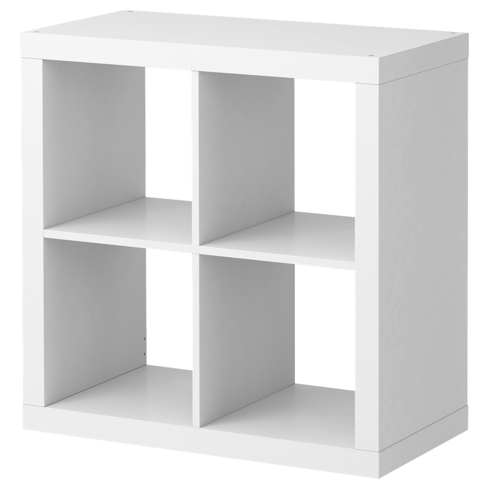 Ikea White Shelves