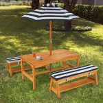 Kids Outdoor Table And Chair Set