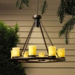 Low Voltage Outdoor Chandelier