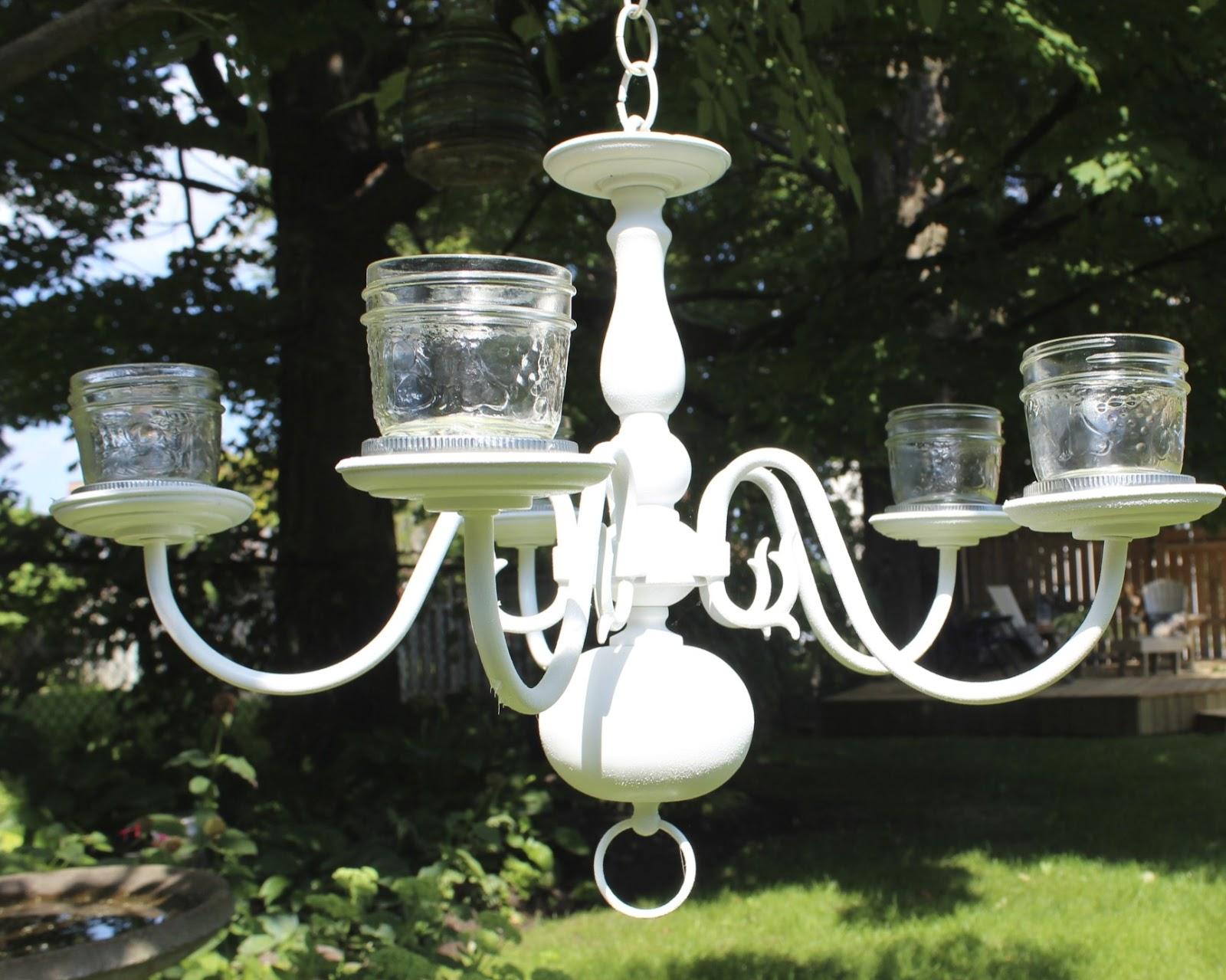 Outdoor chandeliers for sale decor ideasdecor ideas for Solar light chandelier diy