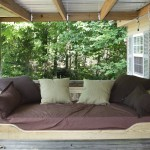 Outdoor Swing Bed Plans