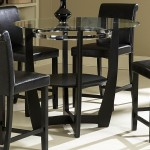 Round Glass Top Dining Table Sets