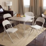 Samsonite Card Table And Chairs Set