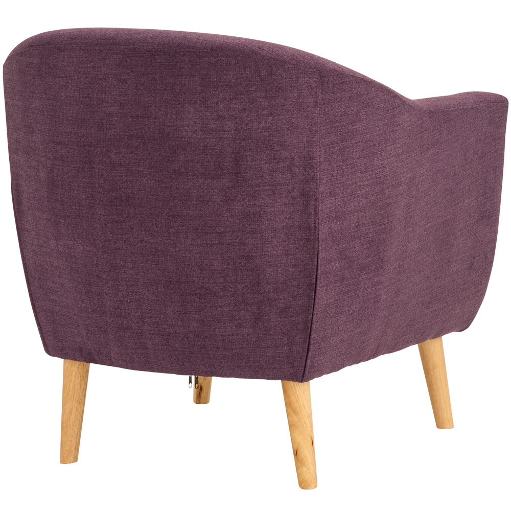 Plum Accent Chair