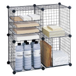 Wire Cube Shelving System