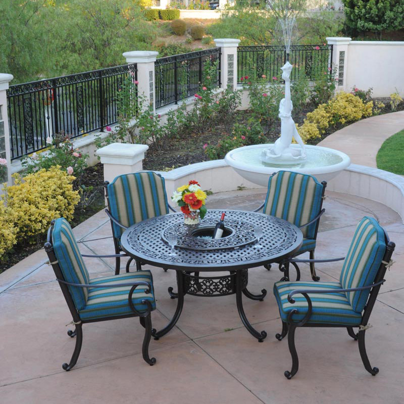 cast aluminum patio furniture sets decor ideasdecor ideas