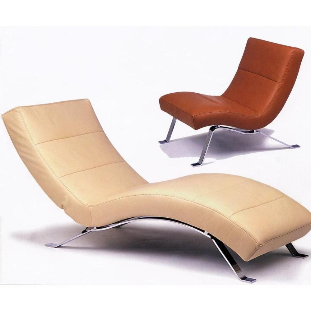 Contemporary chaise lounge chairs decor ideasdecor ideas for Stylish lounge furniture