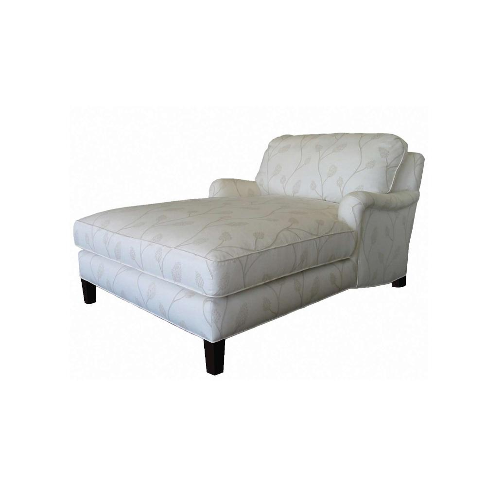 Gray Chaise Lounge Chair