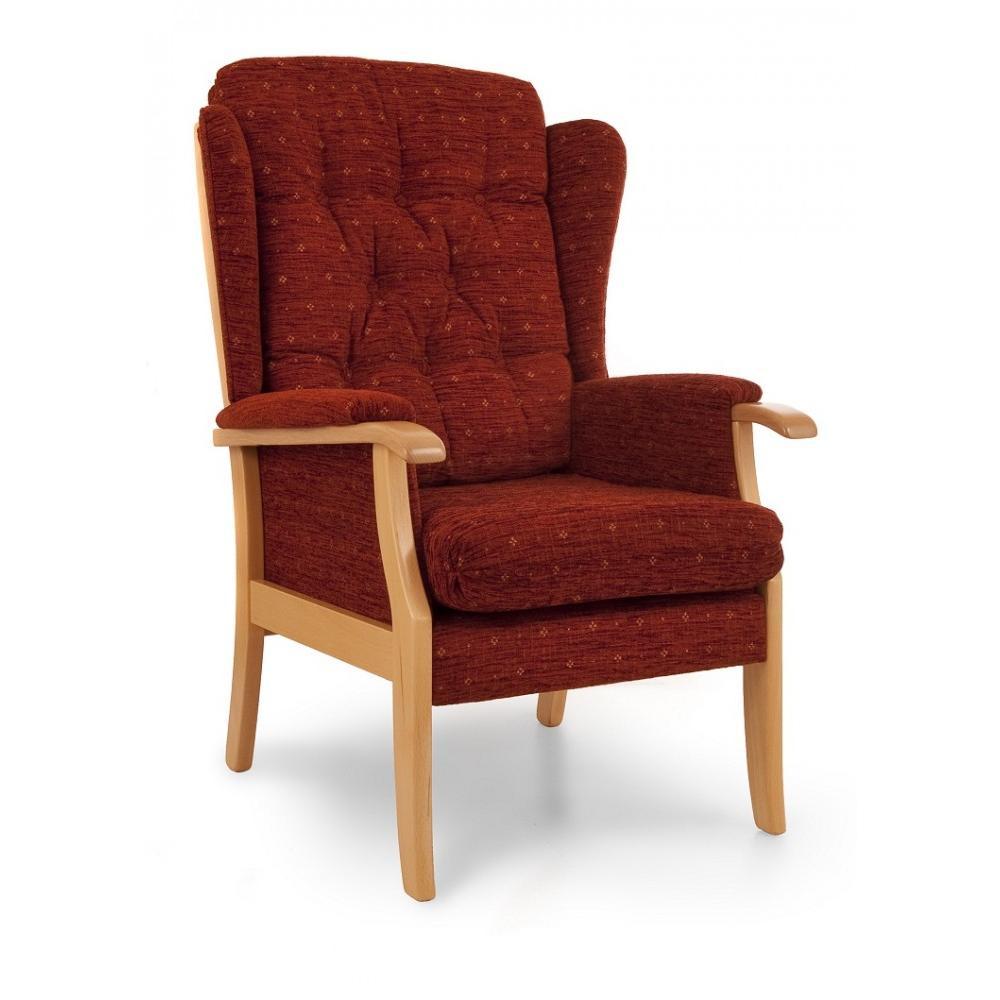 High Back Accent Chairs High Back Accent Chair High Back Accent Chair Savoy By Powell