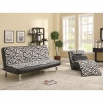 Leopard Print Chaise Lounge Chair