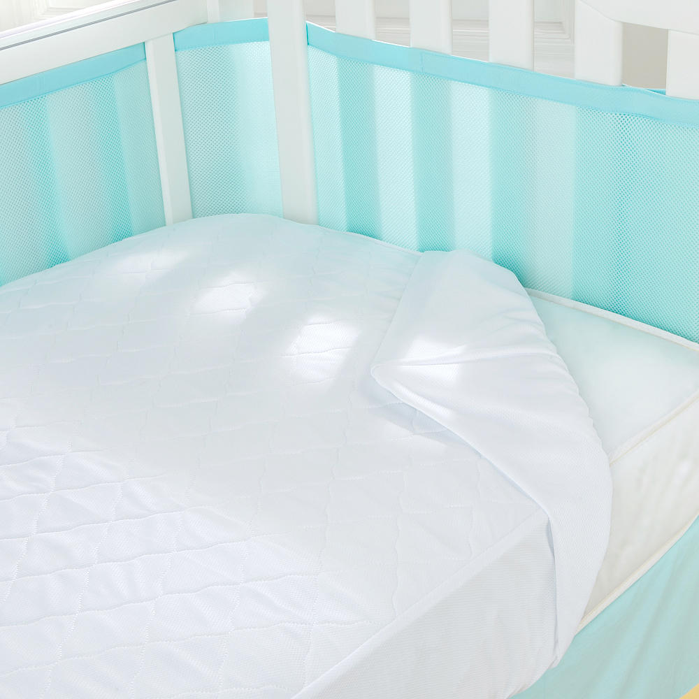 Sealy Stain Protection Crib Mattress Pad Decor