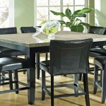 Bar Height Table And Chairs Set
