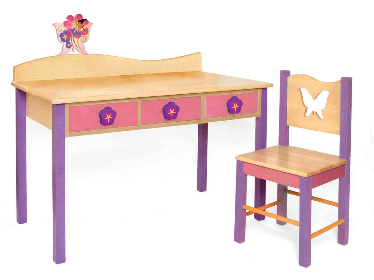 Childrens desk and chair set decor ideasdecor ideas for Best desk chair for kids