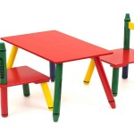 Crayola Table And Chairs Set