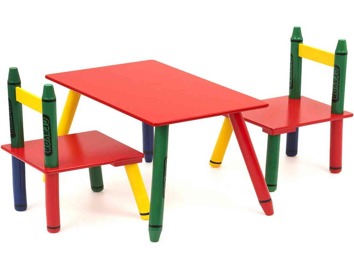 Crayola Table And Chairs Set Decor IdeasDecor Ideas
