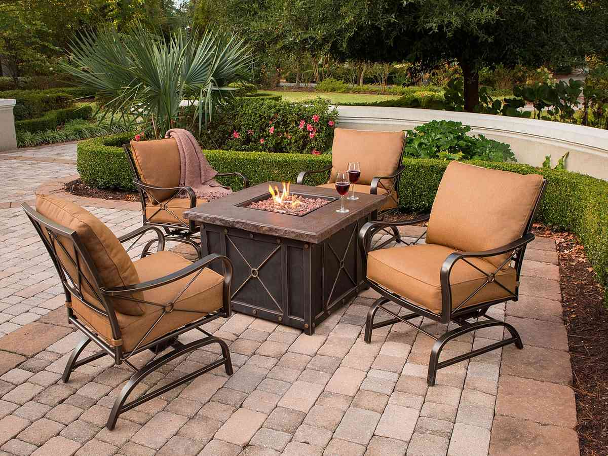 Fire Pit Sets With Chairs Decor IdeasDecor Ideas