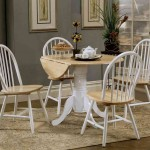 Round Kitchen Table And Chairs Set