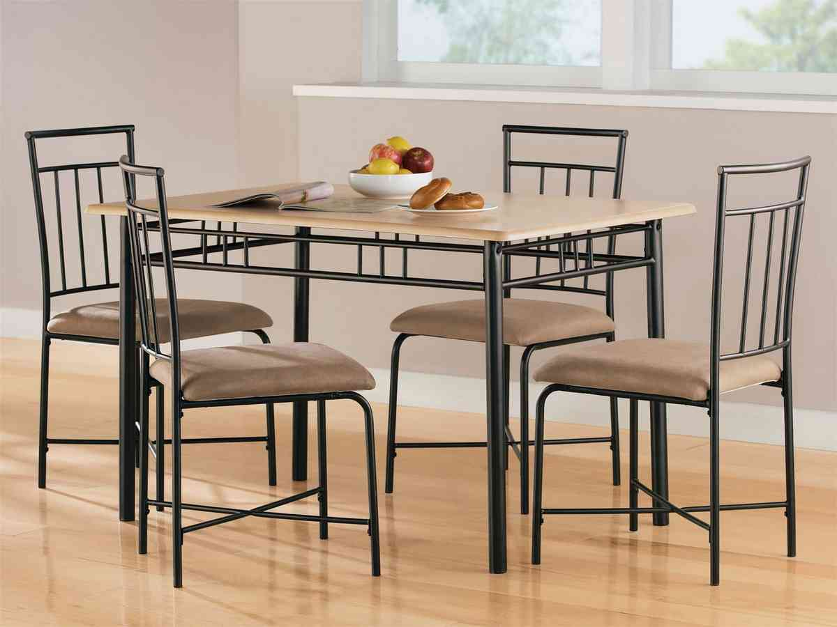 Black Dining Room Chairs Walmart Folding Table And Chairs Set Dining Room Table Oak Dining