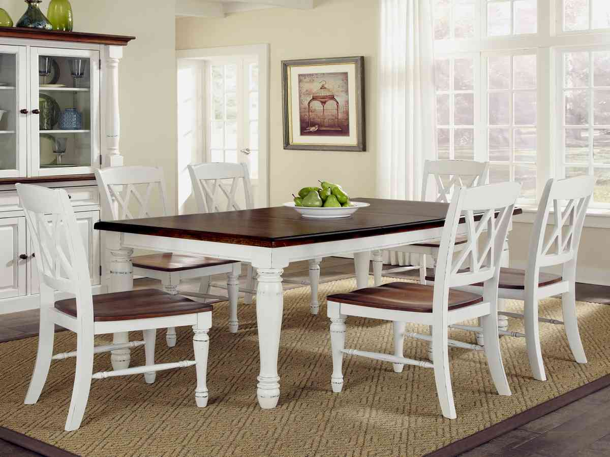 White kitchen table and chairs set decor ideasdecor ideas for Kitchen table and chairs set