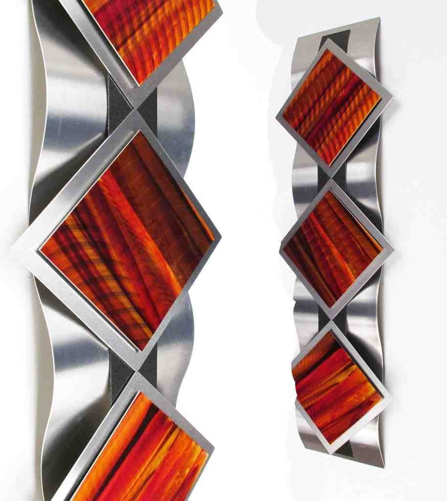 Abstract metal art wall decor decor ideasdecor ideas for Wall accessories