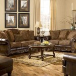 Ashley Furniture Leather Living Room Sets