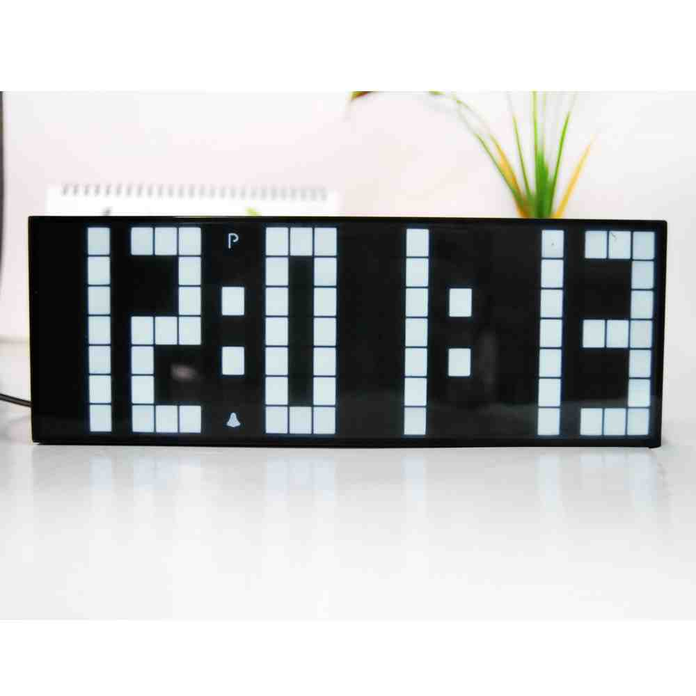 Backlit digital wall clock decor ideasdecor ideas - Digital illuminated wall clocks ...