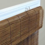 Bamboo Roll Up Blinds Window Shades