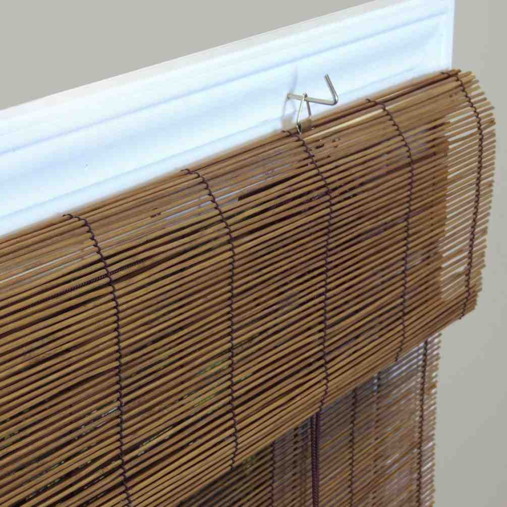 Bamboo Roll Up Blinds Window Shades Decor IdeasDecor Ideas