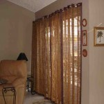 Bamboo Vertical Blinds Sliding Glass Doors