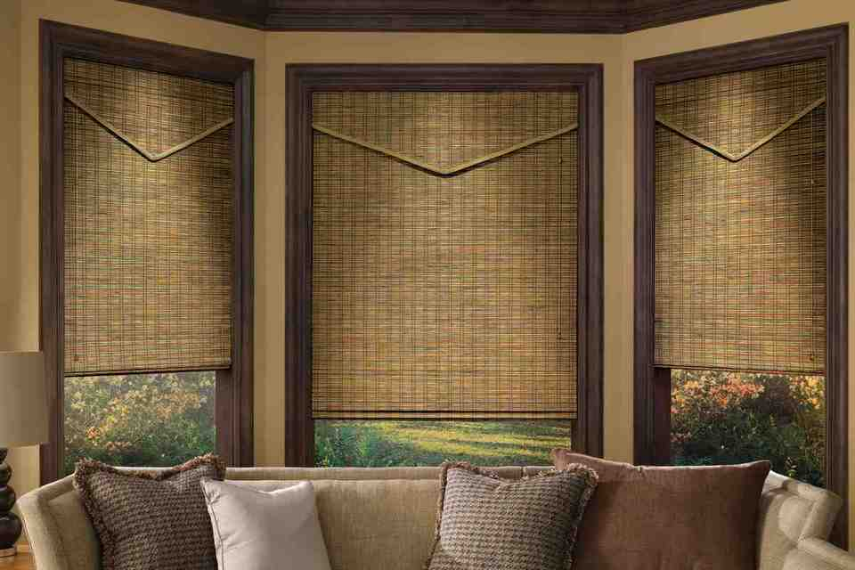 Bamboo window blinds decor ideasdecor ideas