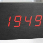 Battery Powered Digital Wall Clock