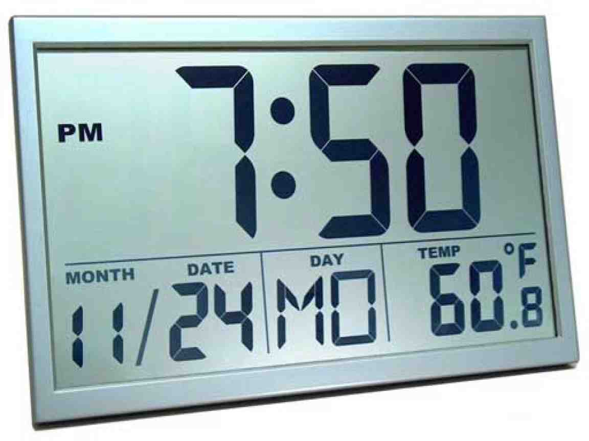 Best Digital Wall Clock Decor Ideasdecor Ideas