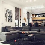 Black Living Room Rugs