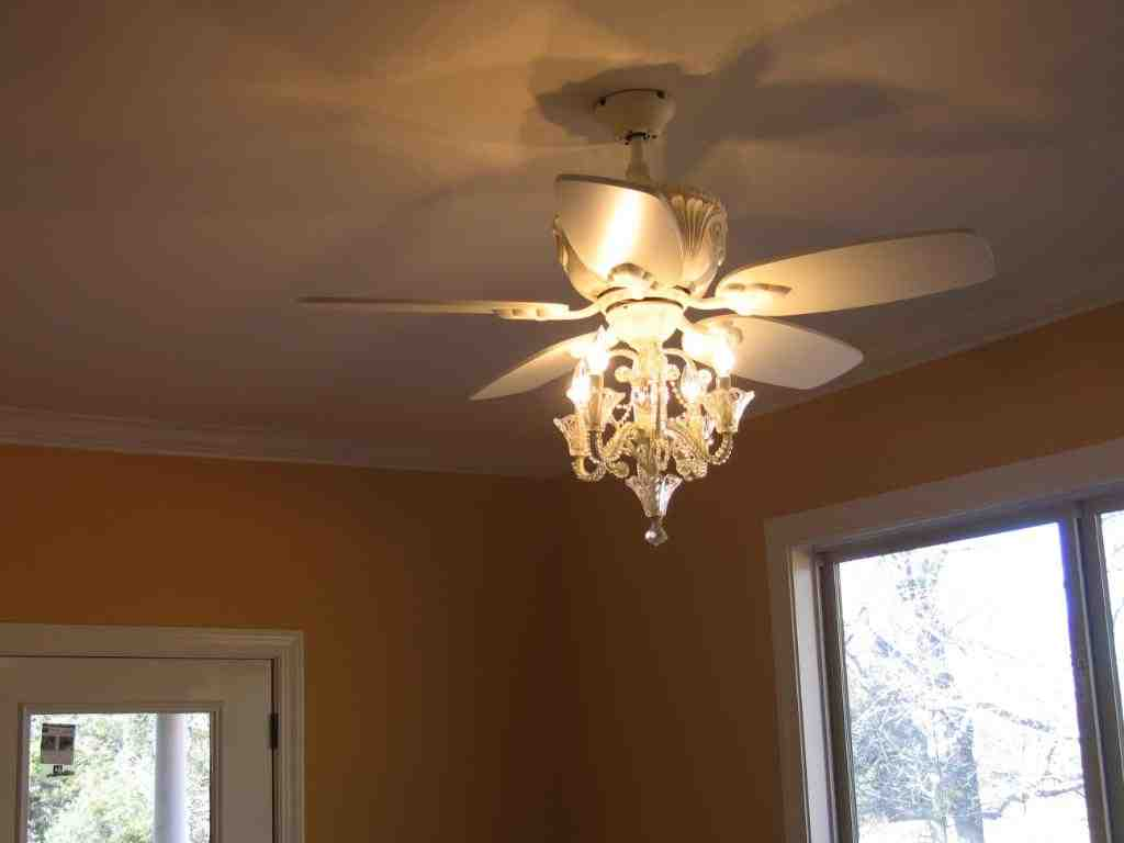 Chandelier Ceiling Fan Combo Decor Ideasdecor Ideas