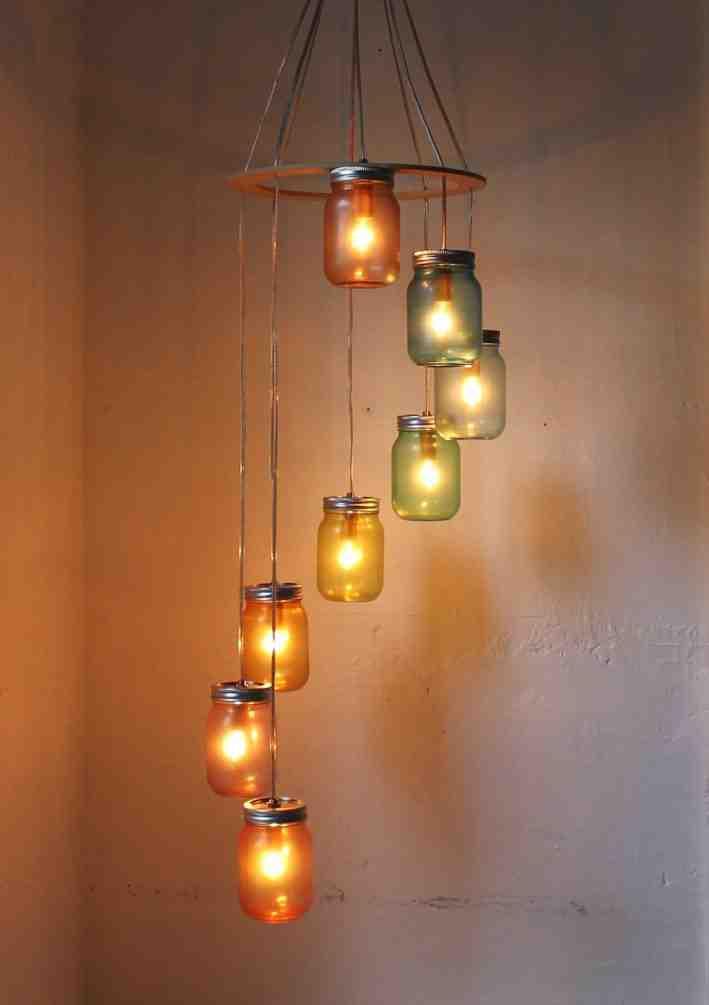 Chandelier Swag Lamp