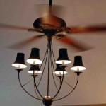 Chandelier for Ceiling Fan