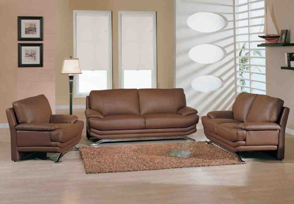 Living Room Furniture: Cheap Leather Living Room Sets