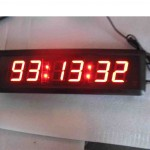 Digital Wall Clock Led