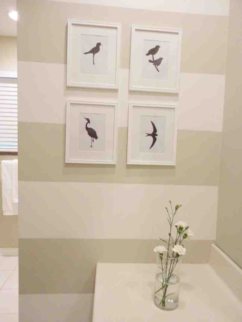 Diy bathroom wall decor decor ideasdecor ideas for Bathroom wall designs