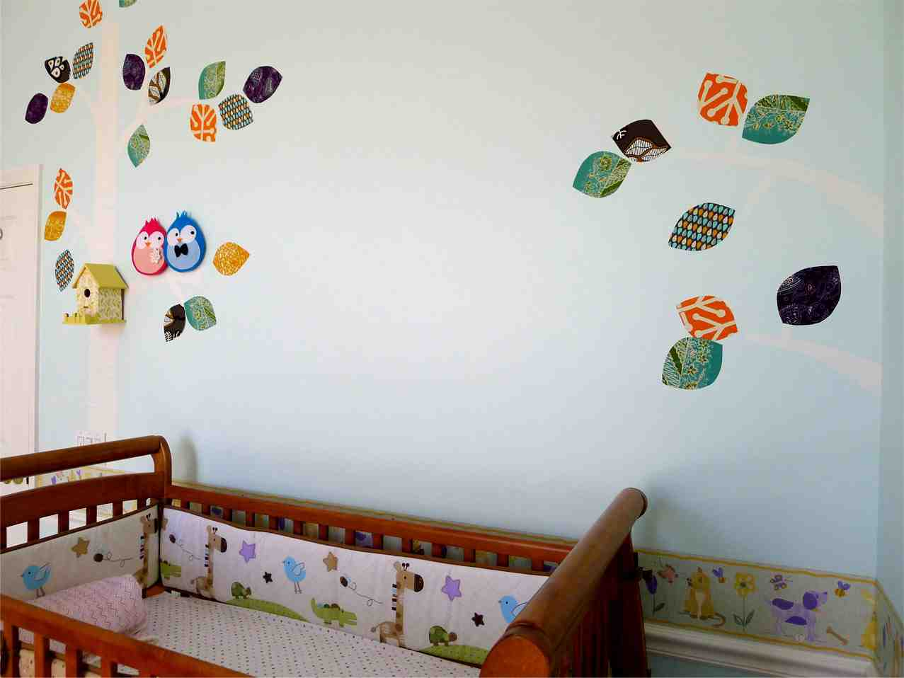 Diy nursery decor pin 22 diy nursery room decor in real Nursery wall ideas