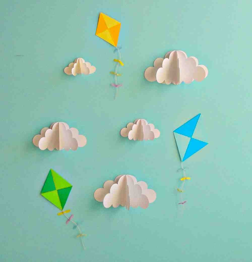 Paper Wall Decoration Diy : Diy paper wall decor ideasdecor ideas