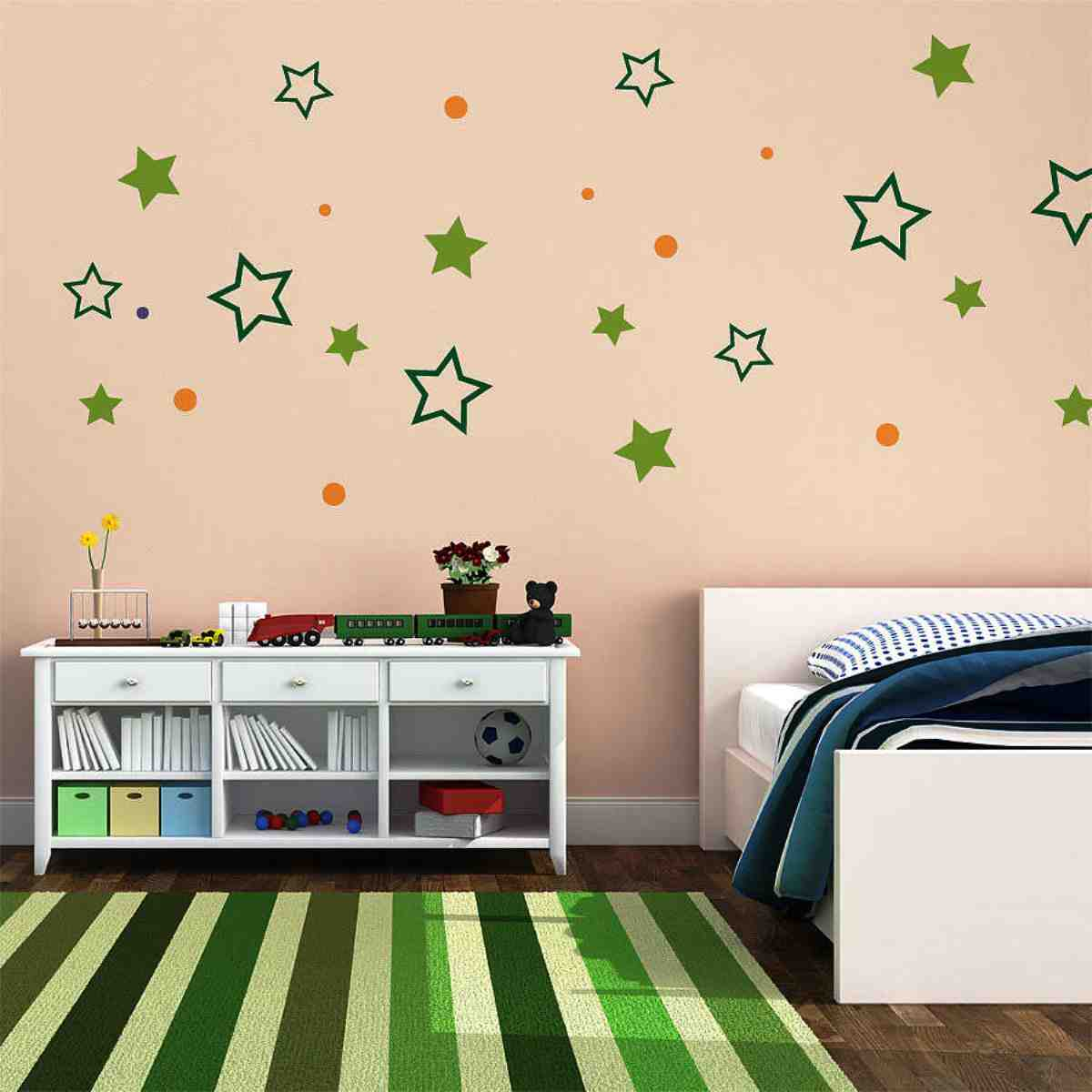 Diy wall decor ideas for bedroom decor ideasdecor ideas for Childrens bedroom wall designs