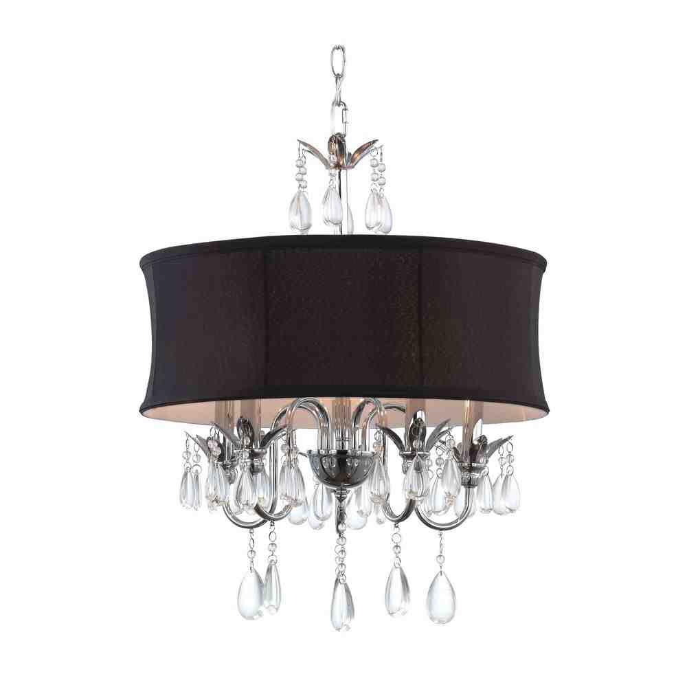Drum Shade Pendant Chandelier