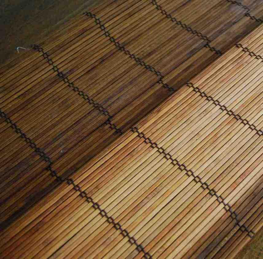 Home Depot Bamboo Blinds