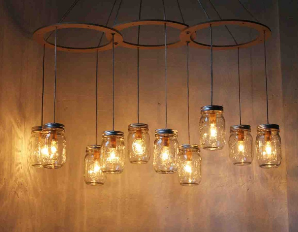 Jar Pendant Chandelier